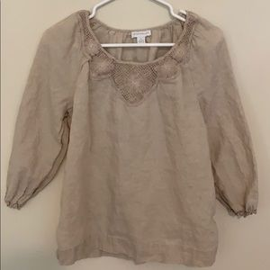 Charter Club blouse size 4